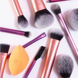 低至7折 £14收化妆刷美妆蛋套装闪购:Real Techniques 精选化妆刷、美妆蛋闪促开启