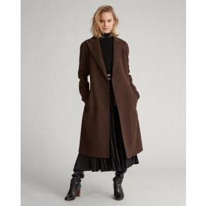 Ralph LaurenWool-Blend Wrap Coat