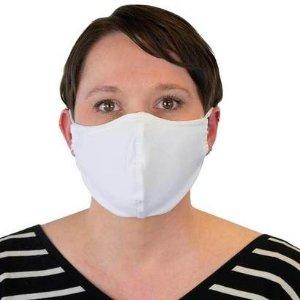 $24.95 环保可水洗3层棉质可重复使用口罩 3个 黑白色选择