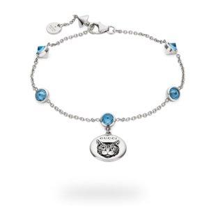 GucciBLIND FOR LOVE系列手链-蓝色猫咪款