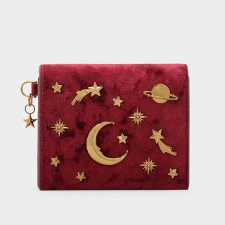 Only for $26Charles & Keith Galaxy Embellished Card Holder