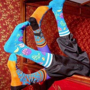 全球直邮Happy Socks 缤纷俏皮的袜子 75折热促+免邮