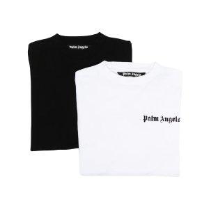 Palm angels经典黑白两件超值套装
