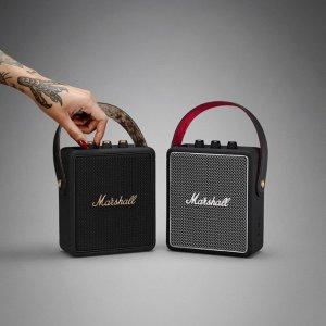 Stockwell 小音箱£109收Marshall 复古可爱便携蓝牙音箱、耳机热促