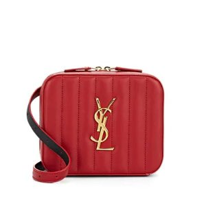 e44c4652a1c Saint LaurentMonogram Vicky Small Leather Belt Bag Monogram Vicky Small  Leather Belt Bag