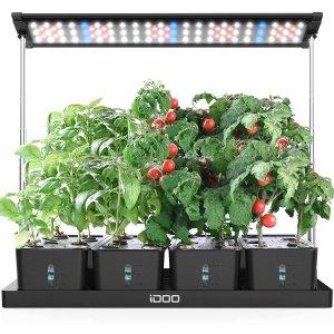 $109.99 (原价$159.99)限今天:史低价!iDOO 室内智能种菜机 自给自足吃放心蔬菜