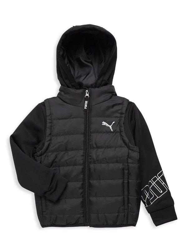 男童保暖外套