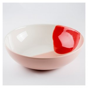 Pool Bowl Large Red 餐具