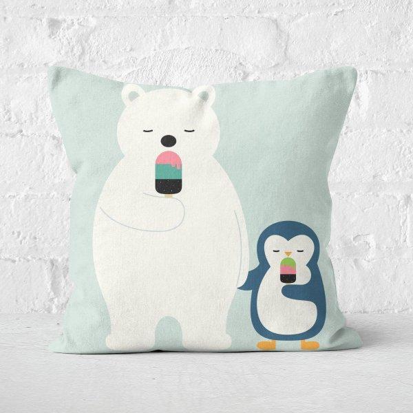 北极熊、小企鹅抱枕