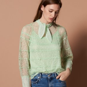 Last Day: Dealmoon Exclusive 50% To 60% Off + Extra 20% OffWomen's Tops Sale @Sandro Paris