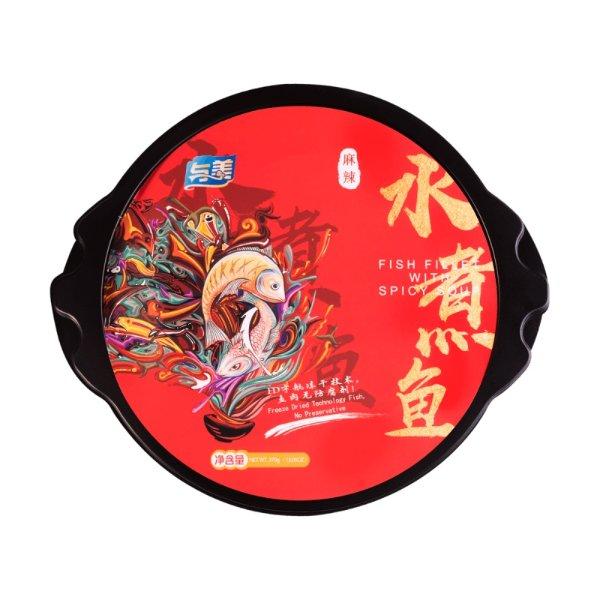 与美 自加热小火锅 麻辣水煮鱼 370g