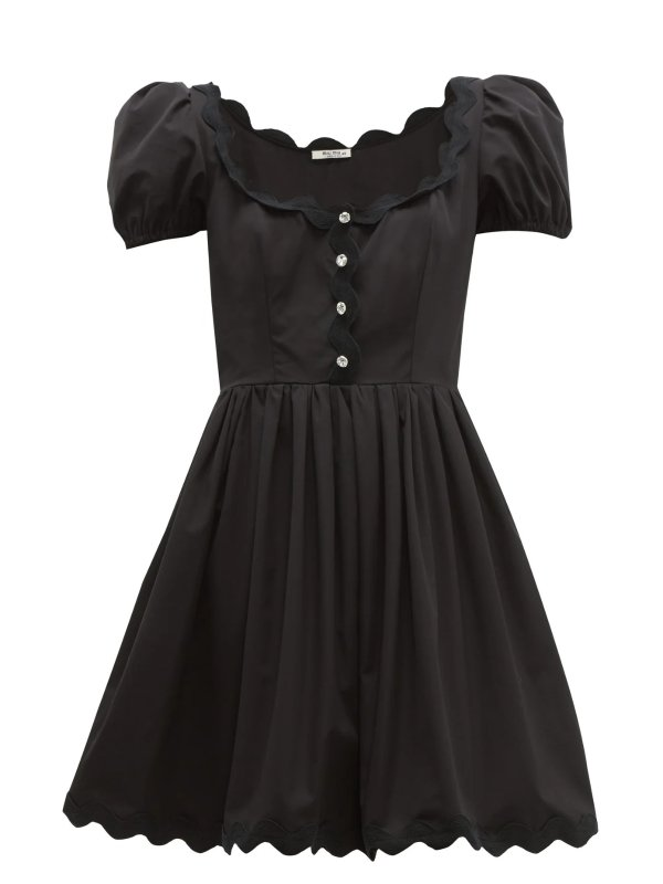 小黑裙礼服