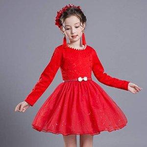 $15.99起 收封面新年战裙2021来啦:little dragon pig 小小公主裙 甜心萌宝打扮起来