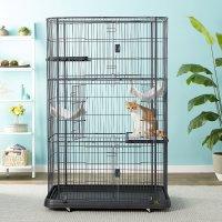 Prevue Pet Products 3层豪华猫咪笼子