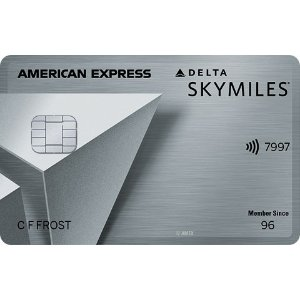 Earn 60,000 bonus miles and 5,000 Medallion Qualification Miles (MQMs). Terms Apply.Delta SkyMiles® Platinum American Express Card