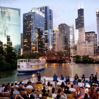 $34起 风城必体验项目之一芝加哥75分钟建筑观光游船