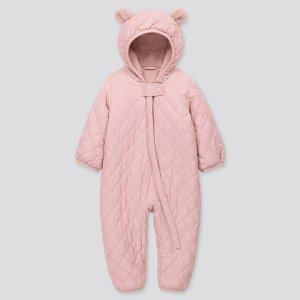 Uniqlo婴儿保暖连体服