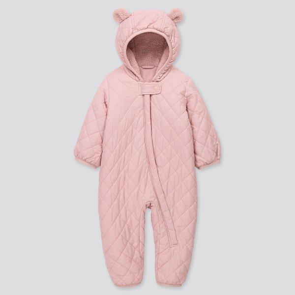 婴儿保暖连体服