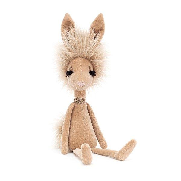 长睫毛高冷小野兔玩偶