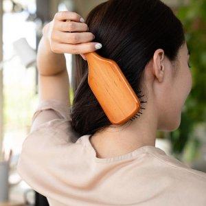 新人8.5折+送5件套+无门槛免邮Aveda 王牌梳子 气垫木梳人手一把 油头少女可入专研头皮按摩梳