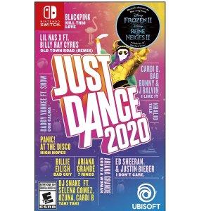 $24.99 (原价$49.99)《Just Dance 2020》 舞力全开  多平台好价