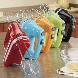 $49.99(原价$79)KitchenAid 手持式搅拌机 5档速度可调 多色可选