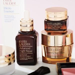 Estee Lauder 美妆护肤热卖 收维稳小棕瓶系列