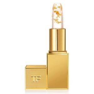 $78 唇间跳跃的金色上新:Tom Ford 2019春夏限量款金箔唇膏