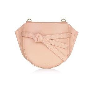 Le ParmentierPeyote Smooth Leather Shoulder bag w/Bow