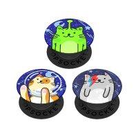 PopSockets 宇宙猫主题 指环扣&背部气囊支架 3个装