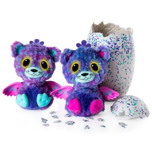 Hatchimals Surprise Peacat Hatching Egg w/Surprise Twin by Spin Master