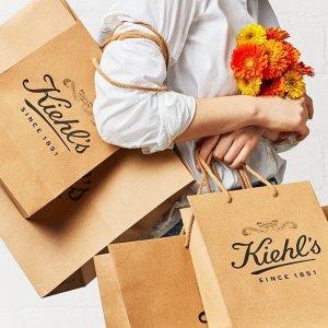 满£60立减£15=变相75折Kiehl's 全场护肤品热卖 牛油果眼霜、蓝精灵油收起来
