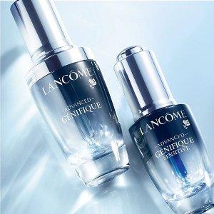 满额送4件礼包Lancome 美妆护肤品热卖 收小黑瓶、新限量