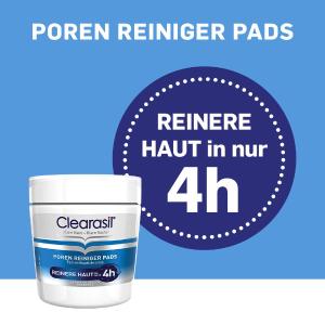 195片仅€18 4小时净肤Clearasil 2%水杨酸棉片 祛痘净肤 清洁毛孔 起效快超安全