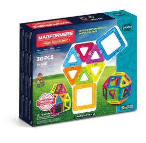 $47.06Magformers 3D磁力拼接益智玩具 30片