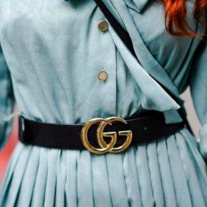 """定价优势 Gucci GG腰带£235Ssense """"腰""""精专场 Gucci、VT、OW都有"""