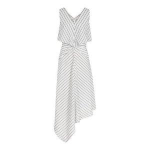 Reiss条纹不规则连衣裙