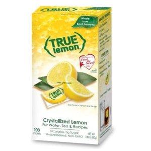 $6.16True 零卡柠檬汁冲剂 100包