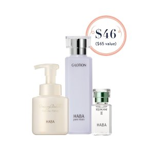 HABA3 Step Skincare Set