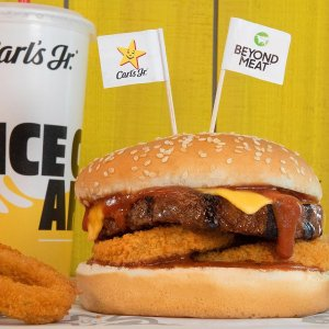 Free Beyond Meat ItemCarl's Jr. 2/3 Beyond Meat Limited time Offer