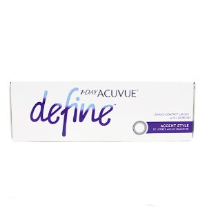 Acuvue1 Day Acuvue Define 日抛美瞳 30片 自然黑灰色