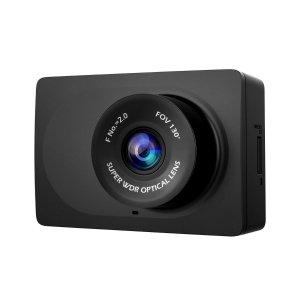 "24.99YI Compact Dash Cam, 1080p Full HD Car Dashboard Camera with 2.7"" LCD Screen, 130° WDR Lens, Mobile APP, G-Sensor, Night Vision, Loop Recording"
