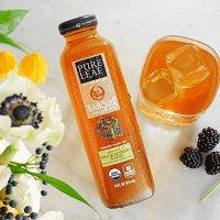 Pure Leaf 茶室特调有机冰茶 黑莓口味 14oz 8瓶