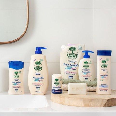 6.3折起 清洁从此不伤手L'arbre vert 专为敏感肌设计 洗洁精、沐浴露、洗衣液等全都有