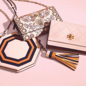 低至4折+额外7折 粉嫩少女心延长一天:Tory Burch官网 樱花粉系列美包美鞋及配饰热卖