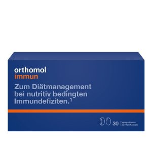 orthomol免疫力胶囊 片剂版 30天