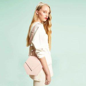 8.5折+封面7.5折+互动抽奖独家:Nina Hauzer 西班牙品牌热卖 入手甜蜜马卡龙系美包美鞋