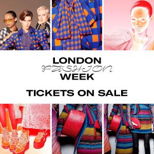 独家8折 本周末热烈开幕即将截止:London Fashion Week 伦敦时装周9月开售 开启时尚之旅