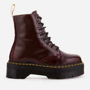 Dr. Martens8孔樱桃红马丁靴
