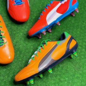 可以免邮全球PUMA evoSpeed SG 足球鞋 原价199.95欧,折后23.99欧